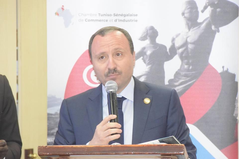 Bassam Loukil à l'ouverture du Forum économique.jpg
