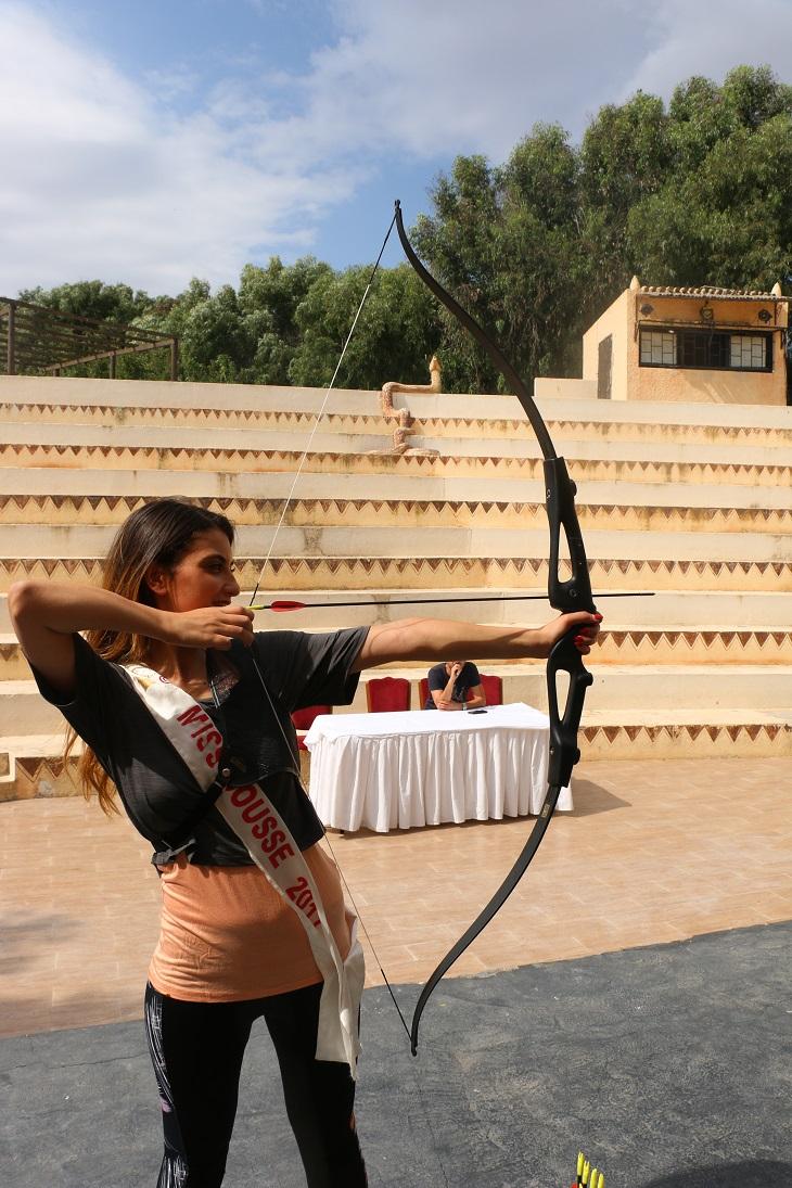 Miss Sousse Talent en Tir à l'arc.JPG