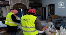 مؤسسة القيروان  تواصل  التعاون والتآزر والتآخي في العمل الخيري  مع مختلف فعاليات المجتمع المدني