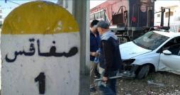 صفاقس : قوات الأمن تفضّ اعتصام  قطار الموت  بالقوة وإيقافات في صفوف المعتصمين