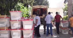 القصرين: توزيع المواد الإنتخابية على 302 مركز إقتراع