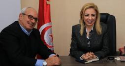 وزيرة الشباب والرياضة ترفع الحصار عن المنشآت الرياضية بحمام الأنف