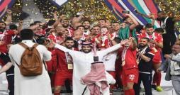 رئيس الاتحاد العربي يهني النجم الساحلي بلقب كاس زايد للاندية العربية الأبطال