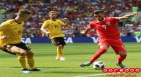 صور وكواليس مباراة تونس وبلجيكا