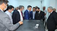 وزير النقل واللوجستيك يعاين عملية محاكاة تشغيل منظومة الاستخلاص الجديدة