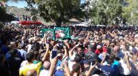 صور : جنازة مهيبة في بنزرت للشهيد فوزي الهويملي