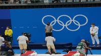 صور تتويج أحمد الحفناوي بالذهب الأولمبي