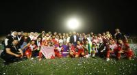 بالصور: الأردن يتوج بلقب كأس العرب للسيدات على حساب تونس