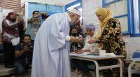 عبد الفتاح مورو يؤدي واجبه الإنتخابي ...  صور