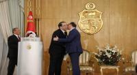 صور : هكذا تم تسليم مهام رئاسة الحكومة بين الشاهد والفخفاخ