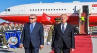 صور من استقبال رئيس الجمهورية للرئيس التركي  رجب طيب أردوغان