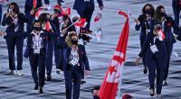 الراية الوطنية ترفرف في إفتتاح الألعاب الأولمبية